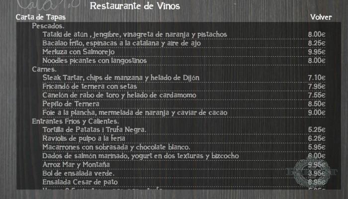 web para restaurante creada por LookBcn®