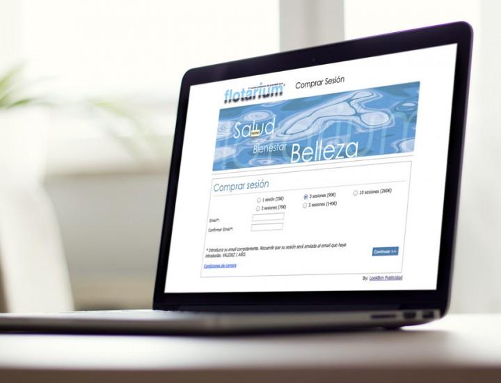 Creación de la web central de reservas online para Flotarium