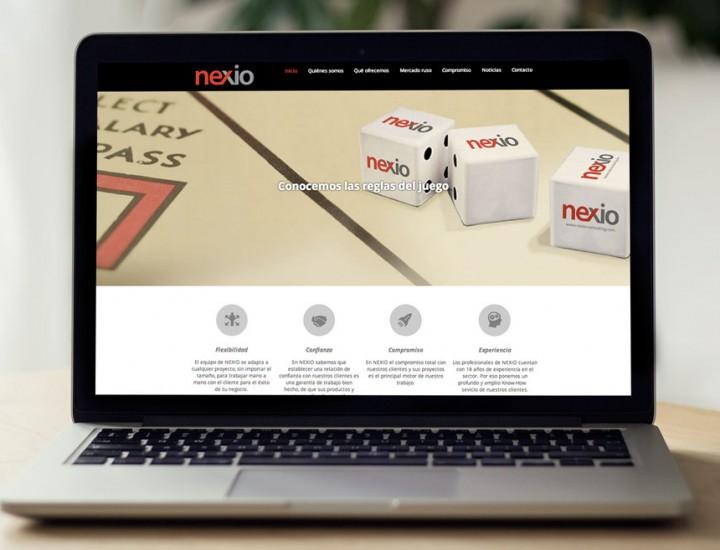 Nueva web para Nexio Consulting Rusia